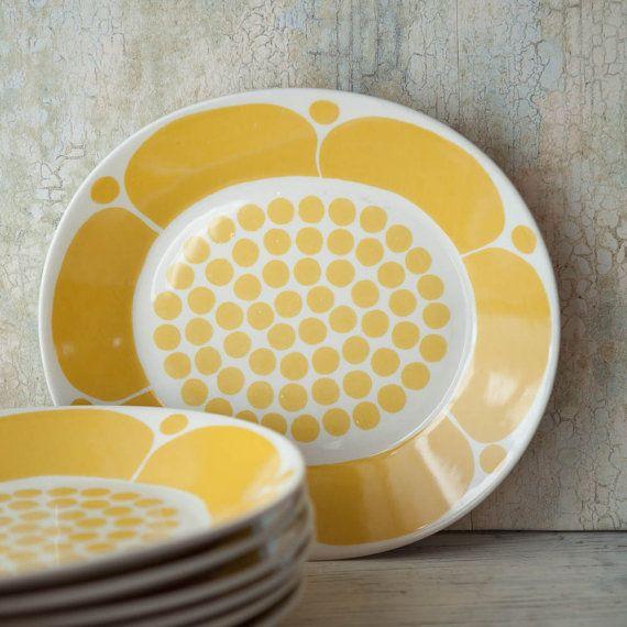 Rare Arabia Finland Sunnuntai Dinner Plate by RoostersNestVintage