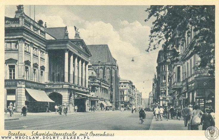 Ulica Świdnicka między 1930-1945