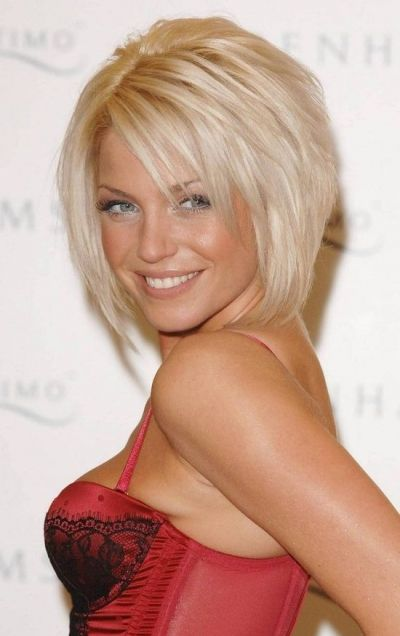 A great look for the sexy singer & songwriter, this bob suits her so well. The way it's layered with different lengths and shorter layers in...