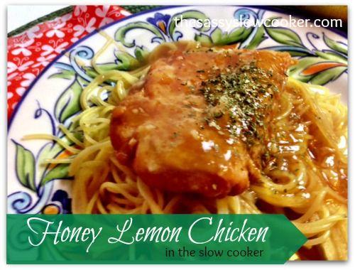 Honey And Lemon Chicken In The Ninja Recipe Honey