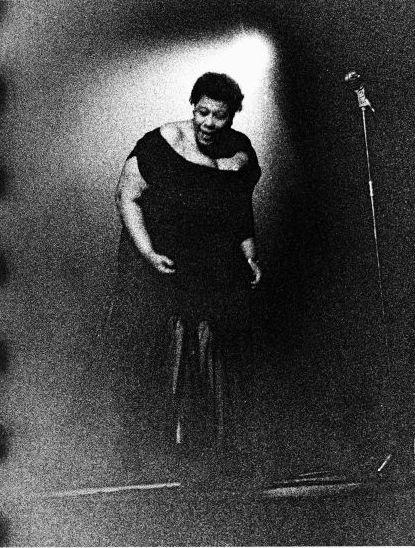 Ella Fitzgerald, Amsterdam by Ed van der Elsken (NL) 1957