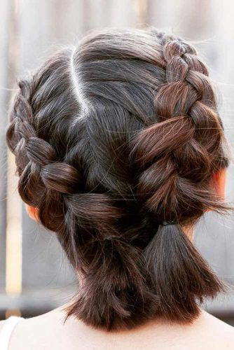 Easy Braided Short Hair Styles picture 3