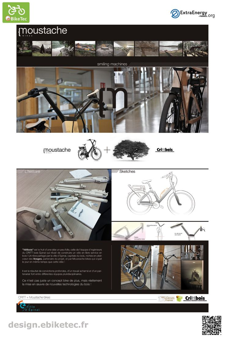 eBikeTec design contest category : vélibois by Emmanuel ANTONOT