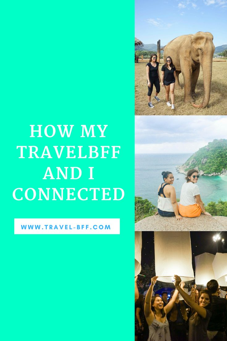 We love to connect female travelers from all over the world. Read how our two members found each other and are now traveling together!  travelbff, travel, female travel, girls travel together, travel together, girls travel, girls love travel, women love travel, women travel together, travel girls, travel women, travel community, community travel, thailand, thailand travel, southeastasia, southeastasia travel