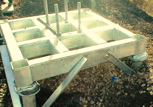 Grillage foundation on helical pile. What is Steel Grillage Foundation and it's requirement (IBC)