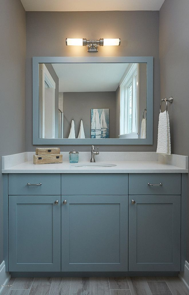 Cabinet Paint Color Is Benjamin Moore Hc 165 Boothbay Gray