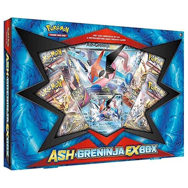 Pokemon TCG Ash-Greninja-EX Trading Card Box #pokemon #ashgreninja
