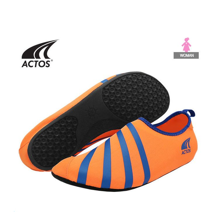 BALLOP Skin Shoe  Fitness Plates Indoor Travel Water Play Sport Aqua Yoga Orange #BALLOP #SkinAquaShoes