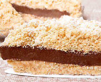 Sbriciolata fredda alla Nutella | Ricetta senza cottura