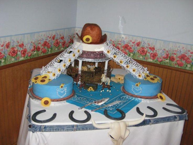 241 Best Western Wedding Cakes Images On Pinterest