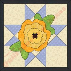 The Yellow Rose of Texas Quilt Pattern | Quilt Blocks of Texas