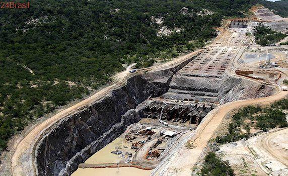 Águas do rio São Francisco estão a 40 km da Paraíba, diz Ministério