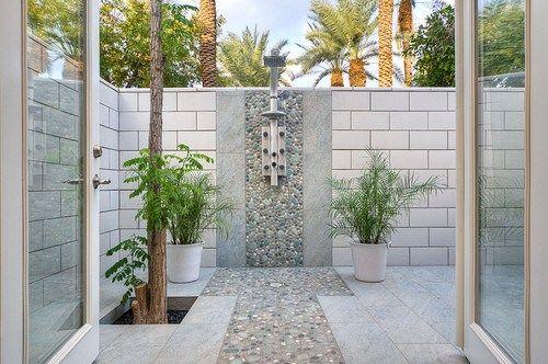 Home Interior Designs | Amazing Outdoor Bathroom | Anna Nuttall