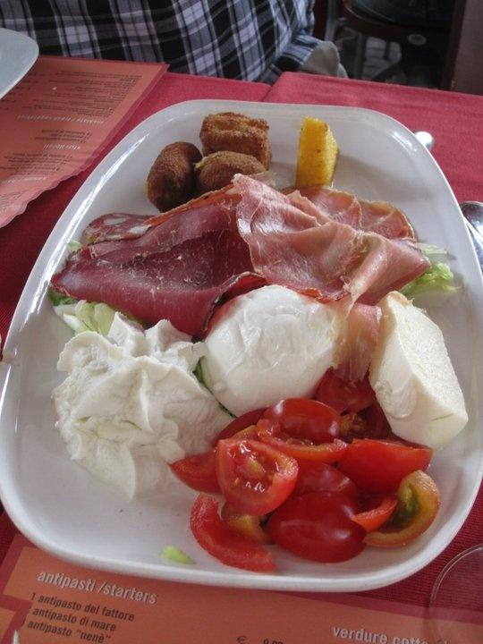 Italian food platter