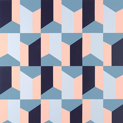 be inventive with a geometric paint pattern thats bolder than wallpaper - Patterns For Painting