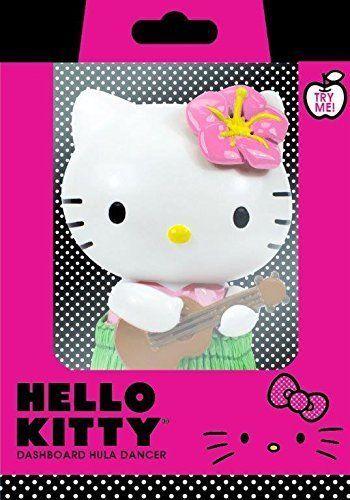 Chroma 48006 Hello Kitty Hula Dancer Dashboard Auto Ornamentz, New #Chroma