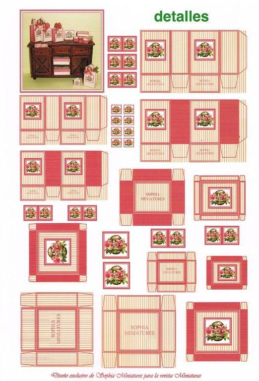картинки для кукольного домика распечатать еда второй день похода