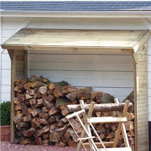 21 best abri bois images on pinterest firewood storage for Abri bois de chauffage