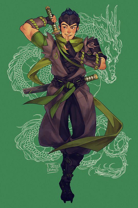Overwatch - Genji Artwork                                                                                                                                                      More                                                                                                                                                     More