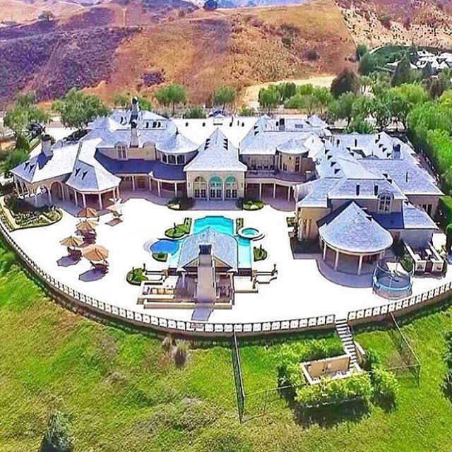 67 Best Images About Celebrity Mansions On Pinterest