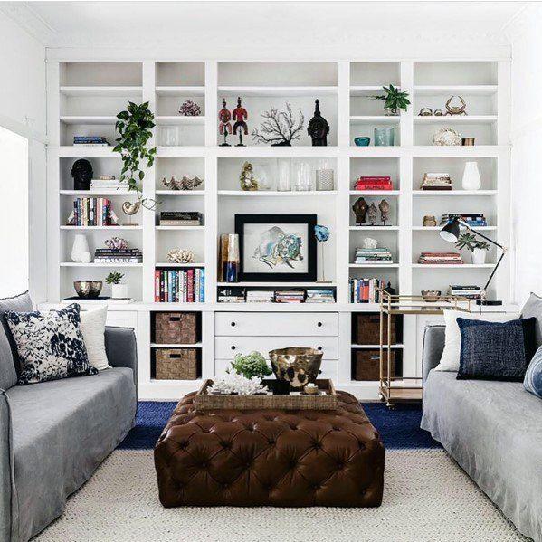 Ceiling Bookshelves Ideas