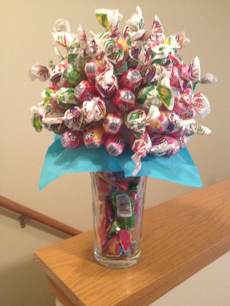 Best candy bouquets images on pinterest bar