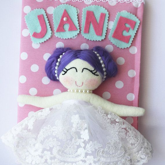 baby girl memory book  princess baby shower  baby girl by Dyness