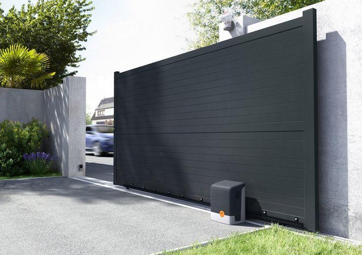 les 12 meilleures images du tableau portail alu gris anthracite sur pinterest portail. Black Bedroom Furniture Sets. Home Design Ideas