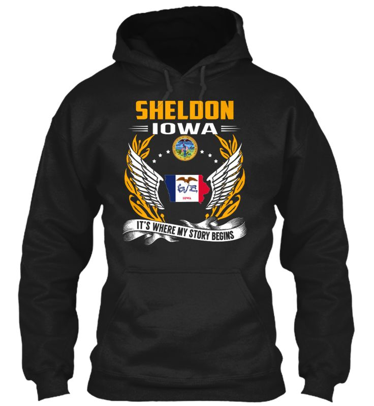 Sheldon, Iowa - My Story Begins