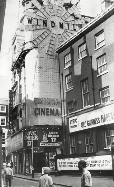 Great Windmill Street, Soho, London, 1973