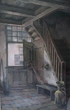 Anton Pieck (1895-1987) - 'Amersfoort'
