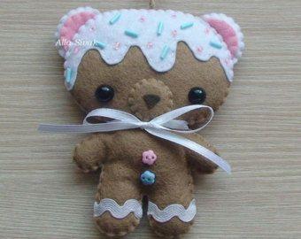 Dulce oso arco iris de azúcar pan de jengibre por DevelopingToys