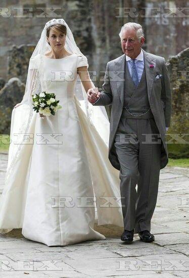 Lady brabourne wedding