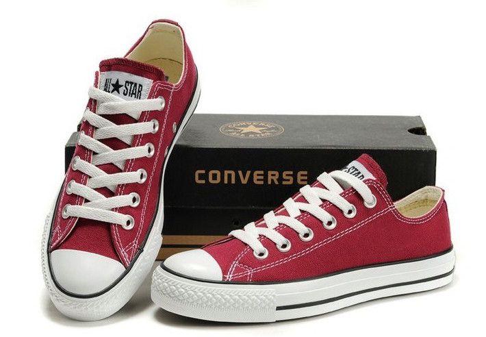 Converse All Star Chuck Taylor - nízké vínové