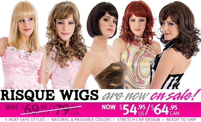 TheBreastFormStore.Com - Your One-Stop Shop for Crossdressing and Transgender Apparel - Crossdresser Costume Wigs: Synthetic and Human Hair Lifestyle and Costume Wigs