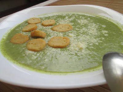 Σούπα βελουτέ με μπρόκολο !! Φανταστική ! ~ ΜΑΓΕΙΡΙΚΗ ΚΑΙ ΣΥΝΤΑΓΕΣ