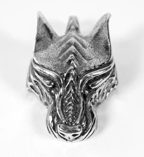colgante lobo Fenrir, colgante cabeza lobo, colgante Fenrir vikingo, joyas vikingas