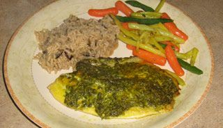 Tilapia au pesto | Poisson, Fish | Pinterest
