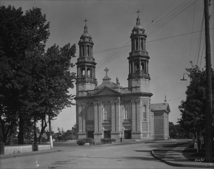Le cœur de Saint-Thomas | Église Saint-Thomas 1931.