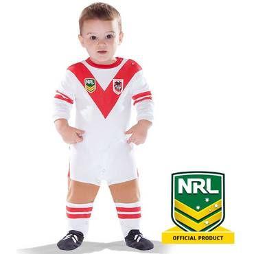 St George Illawarra Dragons Infants' Footysuit - NRL Megastore