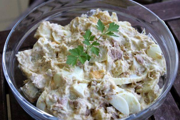 Восточный салат с тунцом 1
