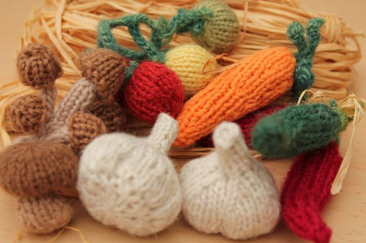 60 best images about Knit Fruit, Vegetables and Flowers on Pinterest Free p...