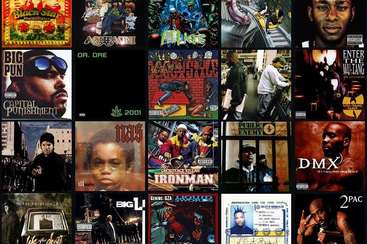 CLASSIC ALBUMS FROM THE GOLDEN AGE OF HIP HOP is a name given to a period in mainstream hip hop, usually cited as being a period varying in time frames during the mid 1980s to the mid 1990s said to be characterized by its diversity, quality, innovation and influence.