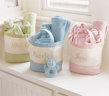 I love the My First Nap Gift Bag on potterybarnkids.com
