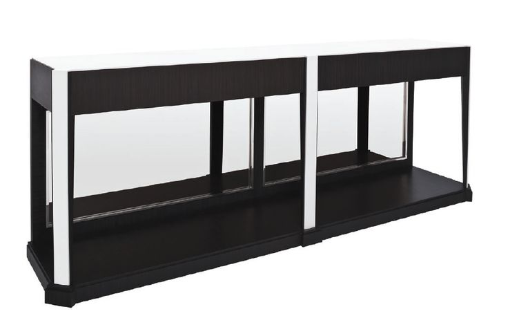 Buy Outline Console by Powell & Bonnell by Dennis Miller Associates - Made-to-Order designer Furniture from Dering Hall's collection of Mid-Century / Modern Traditional Console Tables.