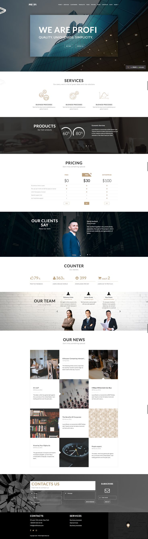 optimal resume login%0A Profi  u     Business  Professional WordPress Theme