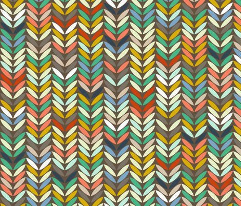 baby elephants and flamingos leaf arrow chevron coordinate ~ want a different size, orientation or colourway? Message me!