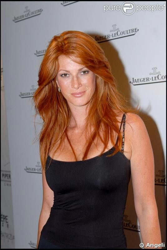 Angie Everhart Copper Penny Hair