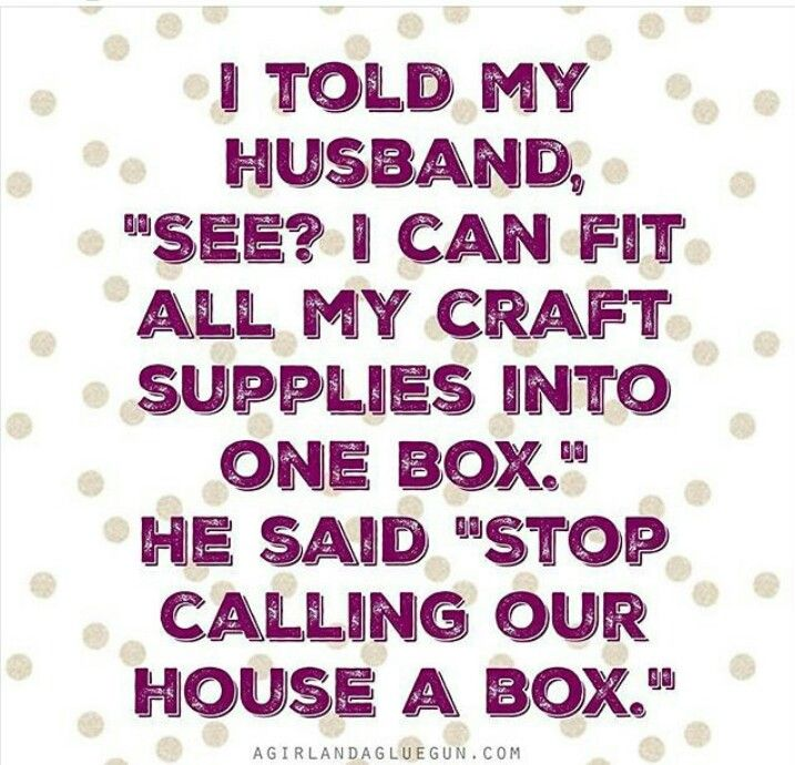 Our house is a box! It is so funny because I literally said this, and then we started seriously discussing wall and ceiling shelving... This is why I love him.