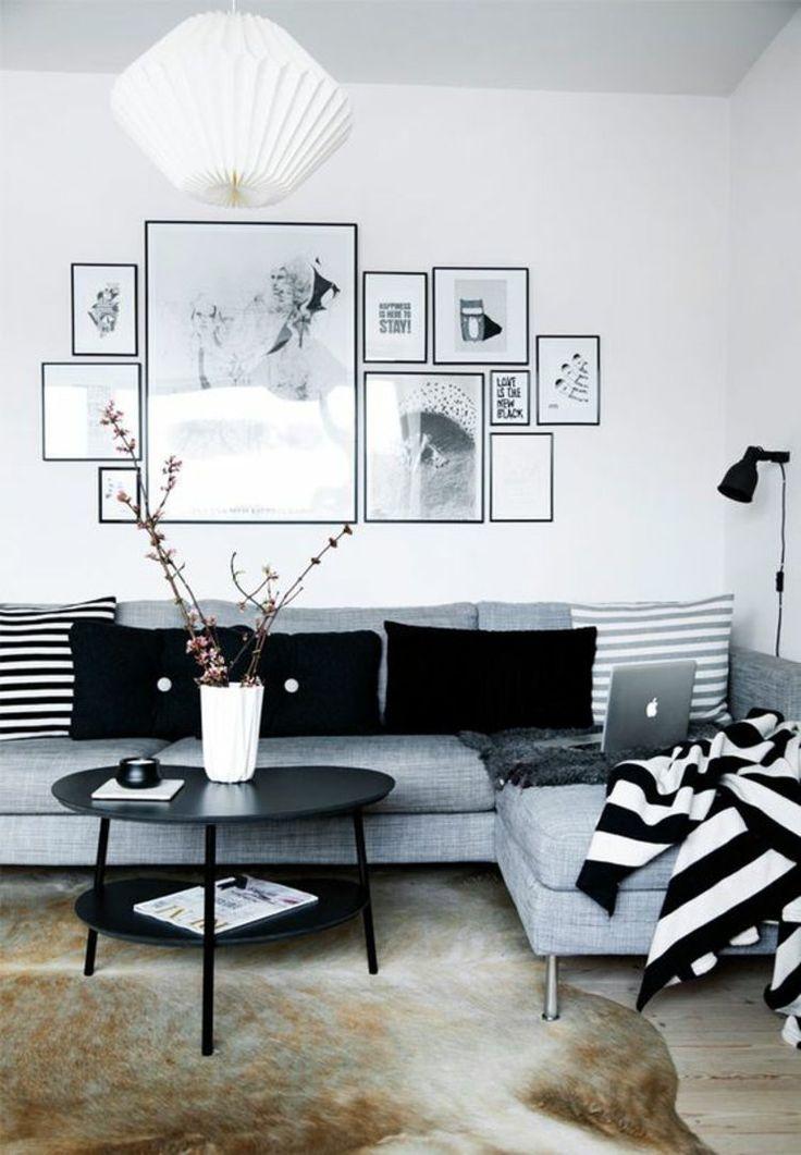 best 25+ bilder wohnzimmer ideas on pinterest - Wohnzimmer Schwarz Wei Dekoriert
